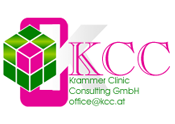 "In 1990 KCC - Krammer Clinic Consulting GmbH was founded by Michael und Burgi Krammer. The company resulted from the idea to offer consulting services and industry-specific software ""from practitioners for practitioners"". KCC is a reference company in the field of consulting and IT-problems in the health care sector. We act on the basis of ""competence"" and ""flexibility""."